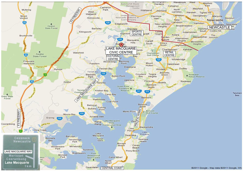 Map Of Lake Macquarie Map Of Lake Macquarie | compressportnederland Map Of Lake Macquarie